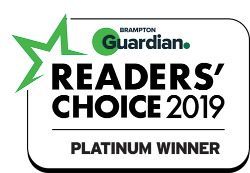 Readers Choice Award for Best Pizza in Brampton