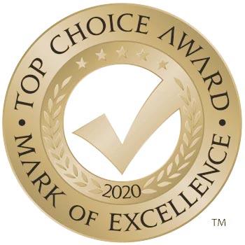 Top Choice Award for Best Pizzeria in Brampton
